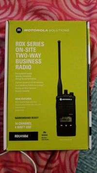 Motorola RDX series on-site two-way Business Radio Portland, 97216