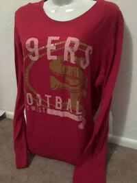 49ers long sleves extra large Bakersfield, 93304