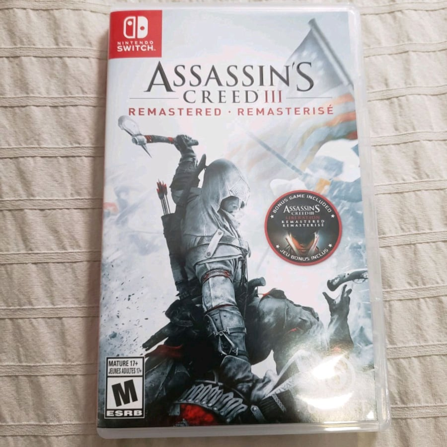 Assassins Creed 3 for Nintendo Switch