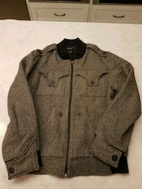 Brand New Mens Size M Wool Bomber Jacket Burnaby, V5A 2A8