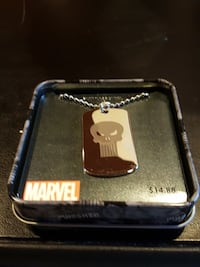 The Punisher dogtag North Bergen, 07047