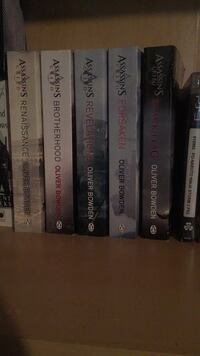 Assassin creed books 2-5  Regina, S4T 4M7