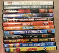 DVD Movie Lot 6 - Sports Calgary, T2Z 4W6