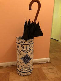 Umbrella stand made in Portugal.  Bethesda
