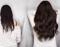 Extensions promotion now high quality hair  Montreal