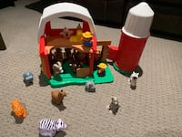Little people Farm set comes with lots of animals London, N5W 6G2