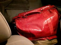 red leather leather shoulder bag Lowell, 72745
