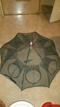 Collapsible fishing net