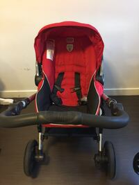 Be-ready britax red and black stroller Vancouver, V6A 1H2