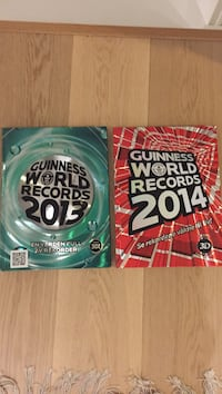 To guinness world records bøker, 2013 og 2014