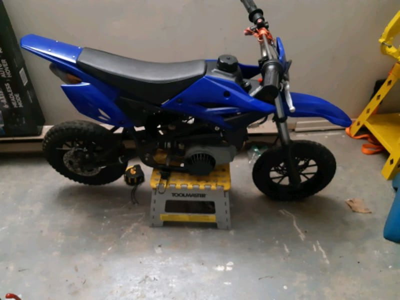BIG BORE 49cc dirtbike  2