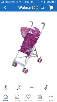 baby's pink and purple stroller Toronto, M6N 4Y4