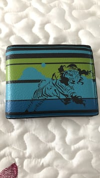 Blue and Green Leather Tiger Walet Dumfries, 22026