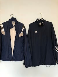 2 adidas windbreakers Vancouver, V5L 1K9