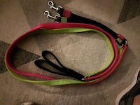 black, red and green dog leashes Hamilton, L8H 4A3