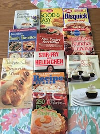 Small cookbooks (all 11 books for $5). Excellent condition! Leland, 28451