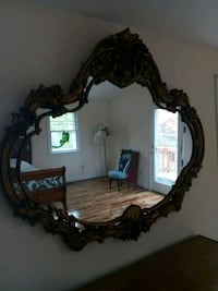 brown wooden framed wall mirror Silver Spring, 20902