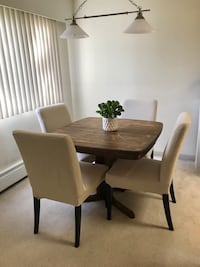 IKEA henriksdal dining chairs Coquitlam, V3J 1P3