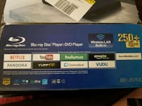 Blu ray disc and Dvd player 11 km