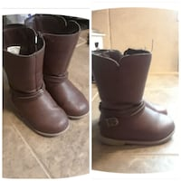 pair of brown leather boots Zachary, 70791