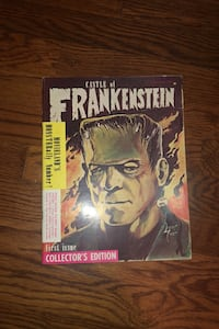 Castle of Frankenstein First Issue Collector's edition Cranford, 07016