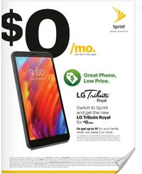 Switch to Sprint and get the Tribute Royal FOR FREE!