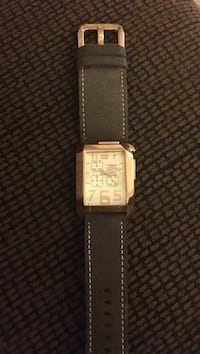 Rose gold invicta with leather band
