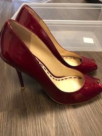 Enzo Angiolini stilettos - cherry red, 9