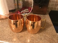 Mr and Mrs Copper Moscow Mule Mugs Caldwell, 07006