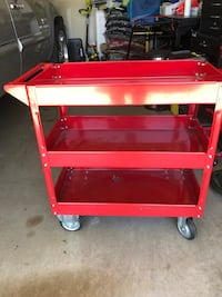 3 shelves rolling tool box  Kennedale, 76140
