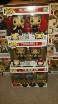Wwe pop vinyls $40 to $60 EACH  (FIRM PRICE) Toronto, M1L 2T3