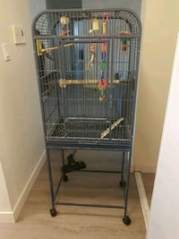 black metal wire pet cage Edmonton, T5T 2J9
