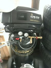 black and gray Craftsman air compressor Chelmsford, 01863