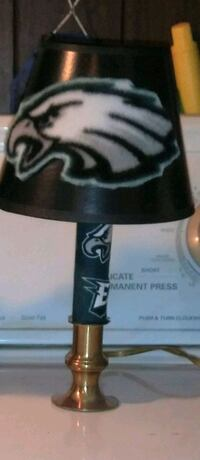 Eagles Lamp Custom Charlotte
