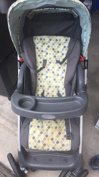 Graco blue and grey stroller Oakville, L6M 2X3