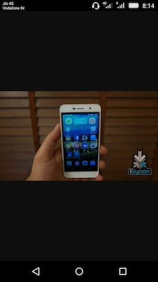 white Android smartphone