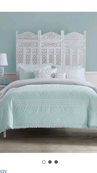 7-piece complete bed set/King size