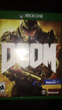 Xbox One Doom game case Woodbridge, 22192