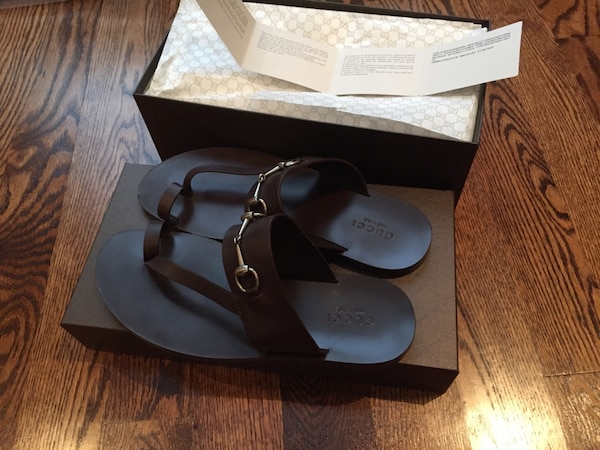 f15eff61d Used Brown gucci sandals for sale in Toronto - letgo