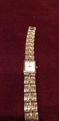 square silver-colored analog watch with link bracelet Chagrin Falls, 44022