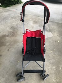 Baby's red and black stroller Upper Marlboro, 20774