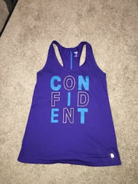Ladies size small/medium blue Confident tank! Only worn once,like new. Wichita, 67207