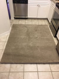 6ftx5ft beige area rug Tampa, 33626