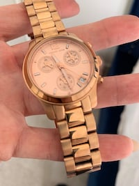 Michael Korda Rose gold watch Coquitlam, V3J 0B6