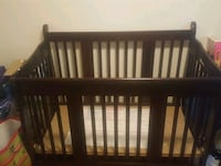 Baby convertible bed