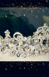 Wedding  selver  crown with Demons Mississauga