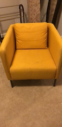 2 IKEA EKERO Mustard Chairs both for  $80.00 Pasadena, 21122