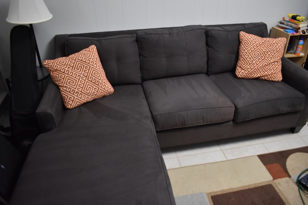 Cindy Crawford Couch Sectional 3 Seat Sofa