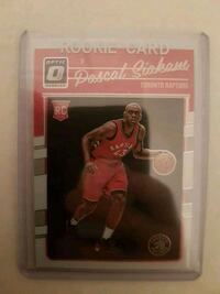 Pascal Siakam rookie card Mississauga, L5R