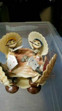 Figurine, clams playing poker Hollywood, 33021